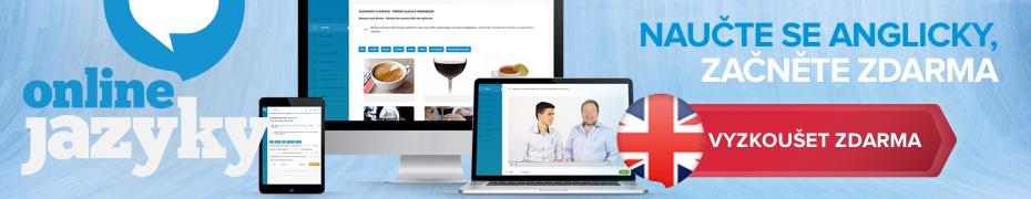 OnlineJazyky.cz - vyzkoušet zdarma
